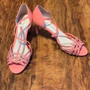 💙Pink Chinese Laundry high heels💙